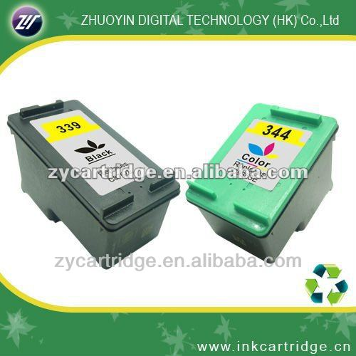 Wholesale ink cartridge 339/344 compatible for HP C8766