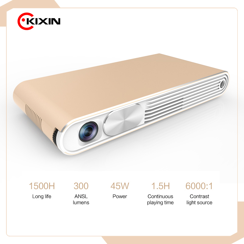 4K 3D Led Hd 1080P Logo Dlp Texas Instruments Pico Video Mobile Phone Android Mini Beam Projector
