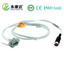Stable quality with Datascope neonate silicon wrap pulse Sensor/probe for Accutorr 3/4 SA , 1m 9pin
