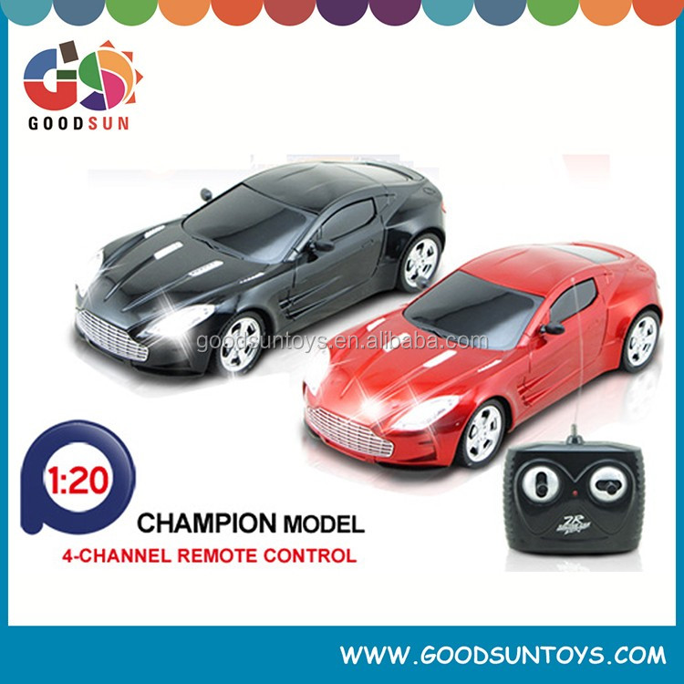 1/20 RC Car radio control car 4-Channel Remote Control Car high speed make remote control car toys with Rechargeable Battery