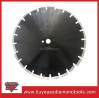 Walk behind saw 350mm diamond cutting saw blade for Asphalt and green concrete