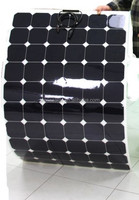 Hot sell low price light weight flexible solar panels 250watt 200watt monocrystalline for RV / Boats
