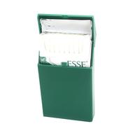Custom cheap promotional plastic slim cigarette pack cover personalized brand 100s holds 20 cigarette holder