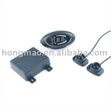 Parking sensor with LED Display and Stick-on Type Sensor SM-R14