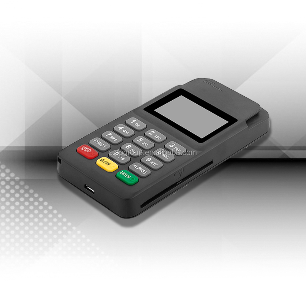 Handheld mobile smart point of sale system for top-up
