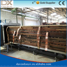 Energy saving kiln dry rubber wood timber
