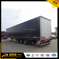 Curtain Side Trailer 3 Axles Curtainside
