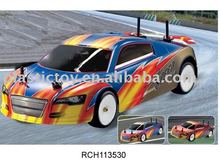 1/10 on-road car RCH113530.W/radio,receiver & servo.W/15cxp GO engine