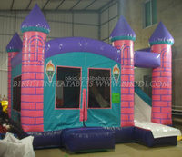 Hot sale kids inflatable jumping bouncy combo/outdoor inflatable bounce castle /inflatable bouncy house B3007