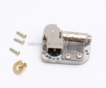 18 note mini music box mechanism for sale