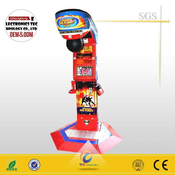 Coin operated Upgraded version fighting ultimate big punch boxing game machine simulator vending machine