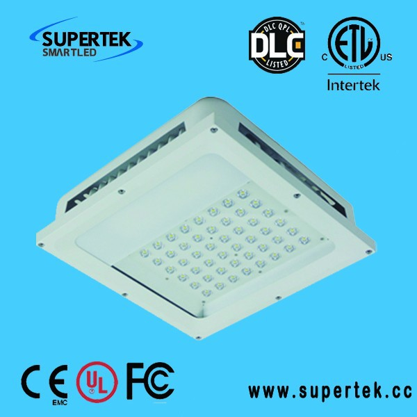 Supertek dlc ul listed high quality high lumen 120w/100w80w dimmable square led ceiling light