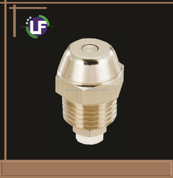1/4'' PT Nickel Coating Brass Fogging Nozzle