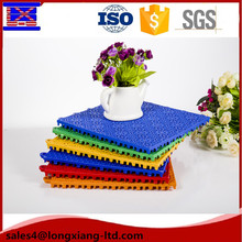 anti-ultraviolet outdoor sport court flooring materials plastic floor covering