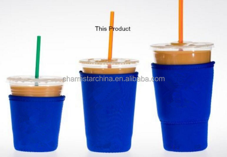 Factory Supply 3 sizes As a Set Coffee Cup Sleeves Covers Neoprene Waterproof