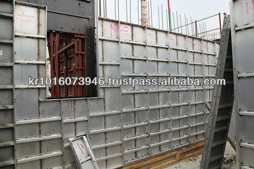 aluminum formwork for concrete