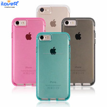 Clear Crystal Transparent TPU Soft Phone Case for iPhone7 7PLUS, for iphone8 8PLUS case