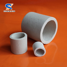 Heat resistance industrial ceramic rasching ring used for scrubbing towers