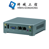 China X86 Fanless Mini PC Barebone