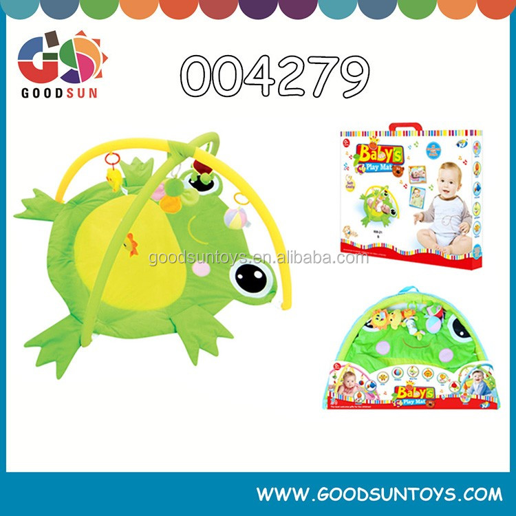 Cute and interesting puzzle and cheap baby play mat baby frog play mat