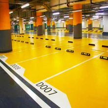 Flat wear resistant high strength flooring coating