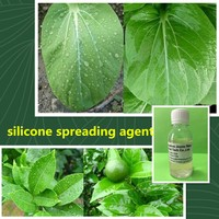 liquid agricultural silicone surfactant for increasing the agro-chemical's spraying area as Silwet 408