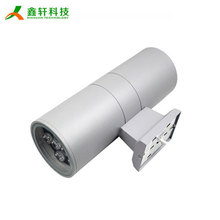Factory sale aluminum surface mounted ip65 waterproof flexible led wall light outdoor