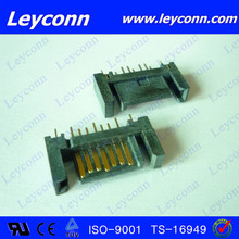 Fast delivery 7 Pins Straight Solder/DIP B Type SATA Connector