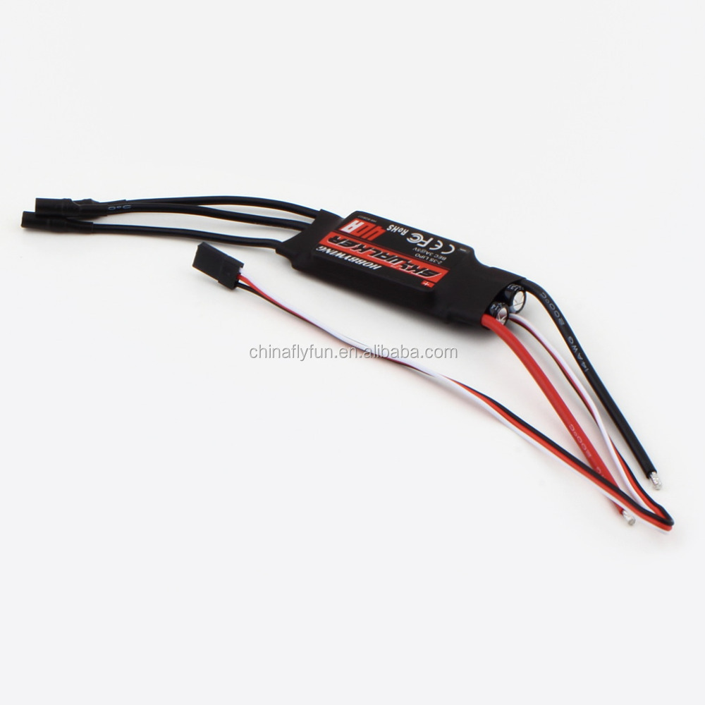 Hobbywing SKYWALKER 2-4S 40A Electric Speed Control (ESC) <strong>w</strong> For RC Airplane