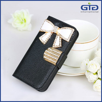 Magnetic Rhinestone Flip Stand Case For Nokia Lumia 520