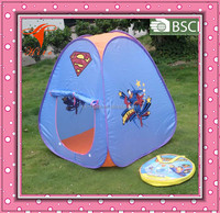 Superman pop up kids play tent