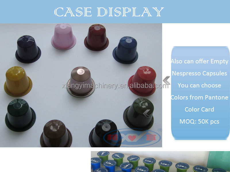 high speed plastic nespresso coffee capsule filling machine for sale and automatic capsule coffee filling machine