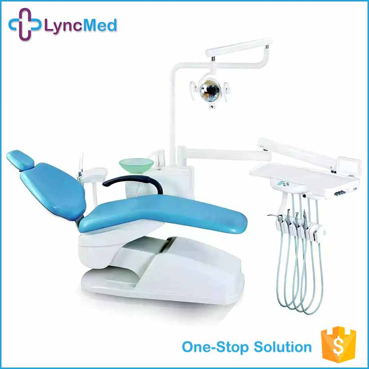 Hosapital controlled integral clinic dental chair for left hand