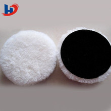100% wool soft car polishing felt pad