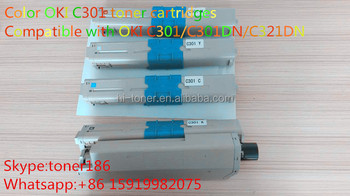 C301 color toner cartridges premium toner cartridges'manufacturer