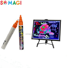 small led advertising board, diy led drawing board for cafe shop, bars and restaurants