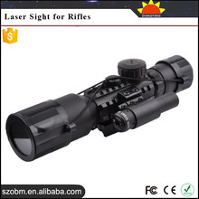 1mW/5mW/30mW/50mW Manual Regulation 3-10x42 Riflescope / Target Scope Infrared Laser Sight for Rifles