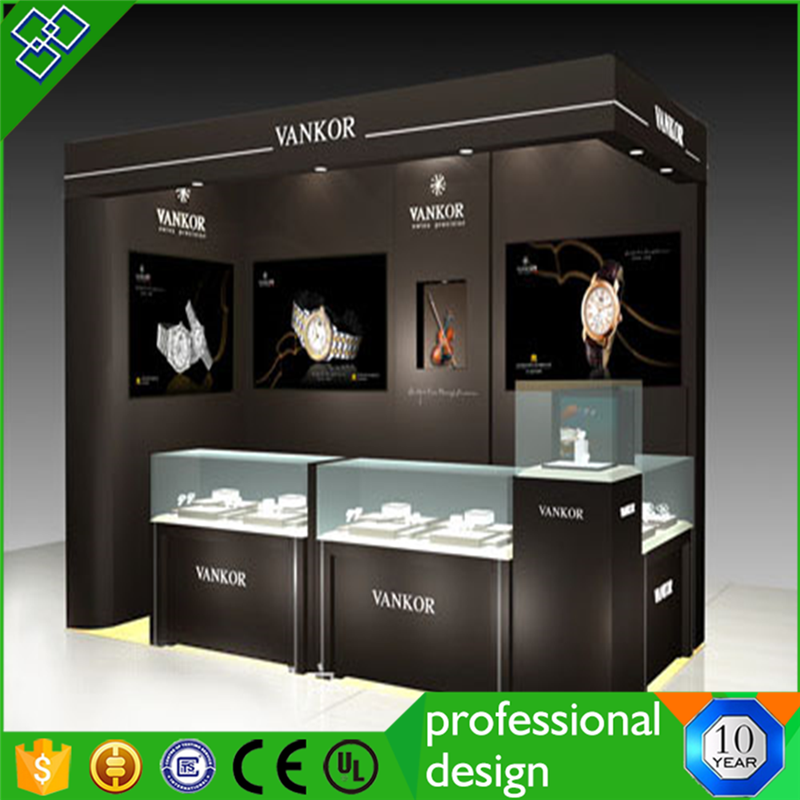 Glass Led Lighted Watch Display Case/lighted Watch Case Display