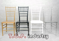 Wooden or PP / PC Rental Chiavari Chair