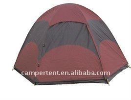 dome family camping tent