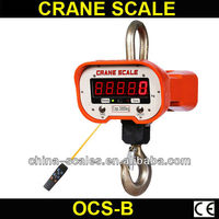 OCS-B 5000kg/2kg LED electric compact hoist mill scale