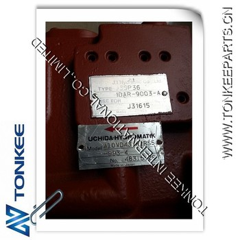 Excavator pump A10VD43 SR1RS5 Hydraulic Piston Pump E70B