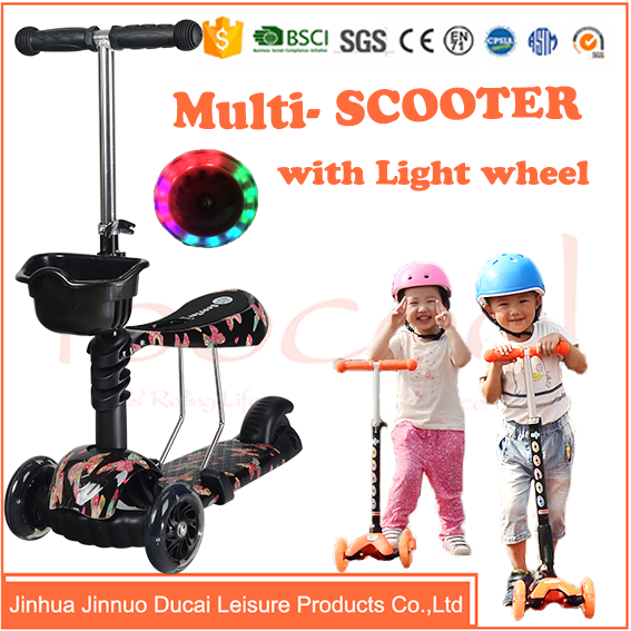 Made in china flicker scooter with seat for childs TK03A