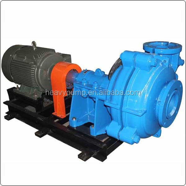 4'' centrifugal sludge pump for dirty water at coal mining Russia