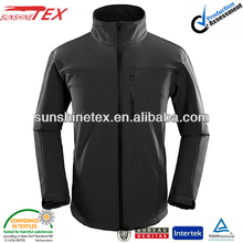 Mens waterproof horse riding softshell jacket