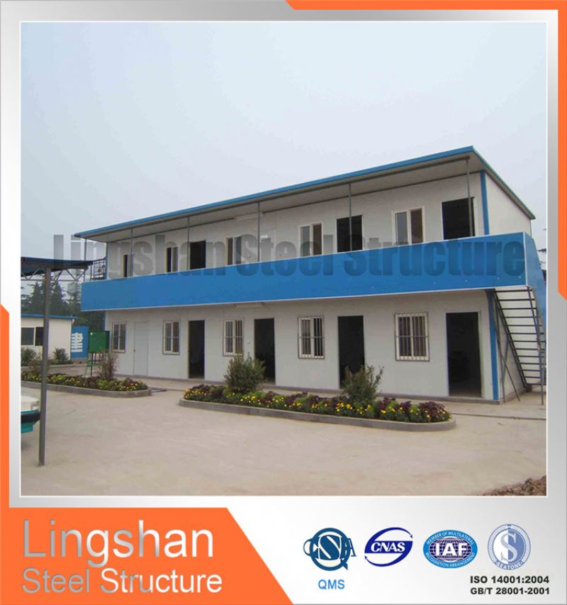 2016 hot sale easy installation design low cost prefab house