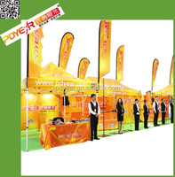 Factory outdoor exhibition tent/ 3x6m promotional tent/pop up tent