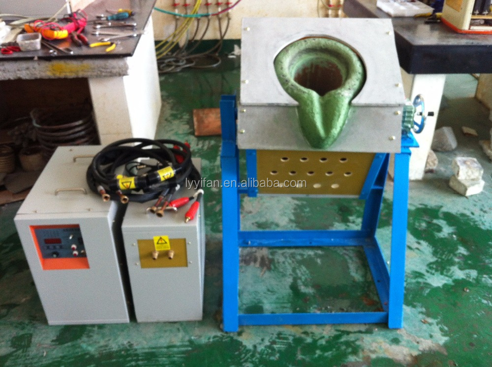IGBT Cast iron /copper/steel/aluminum/brass melting furnace for sale