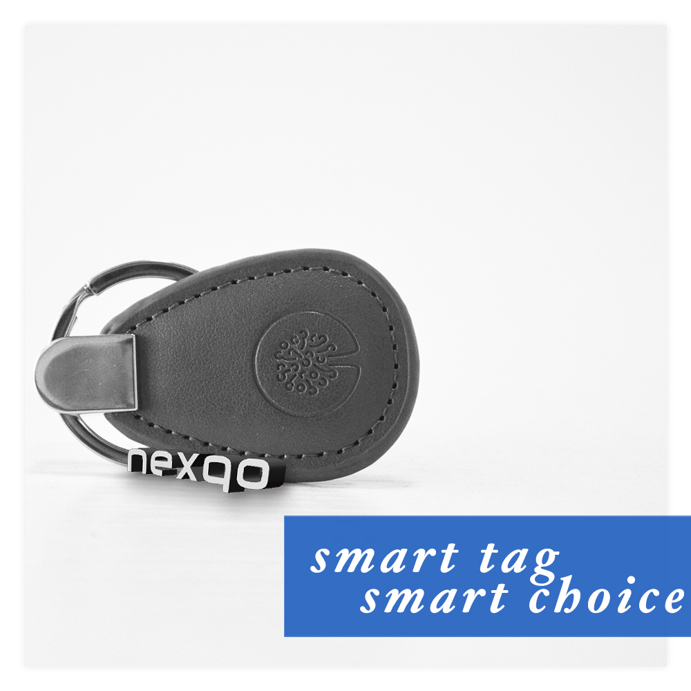 Wholesales custom high quality TK4100 rfid leather key fob