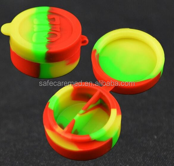 small silicon box silicone pill boxes silicone storage box